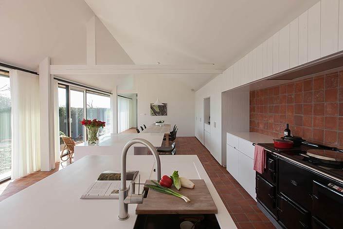 Aerts blower interieurvormgeving interieurarchitecten interieurarchitect - Renovatie huis exterieur voor na ...